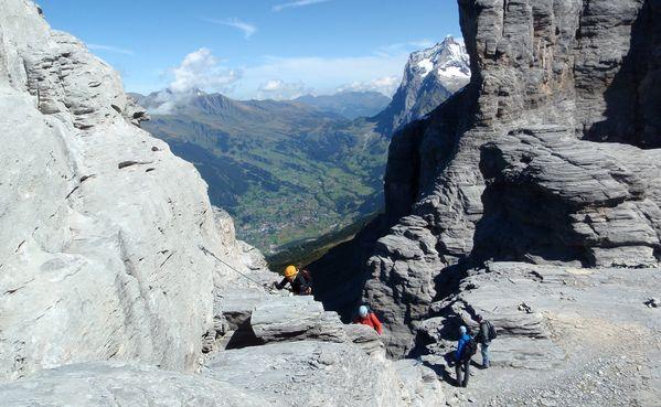 Klettersteig Lauterbrunnen : Klettersteig rotstock grindelwald wengen mürren lauterbrunnen