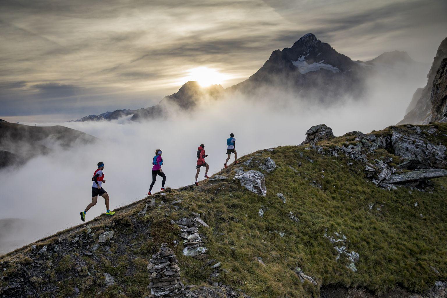 Trail Running Auf unzähligen Trails in Grindelwald in der