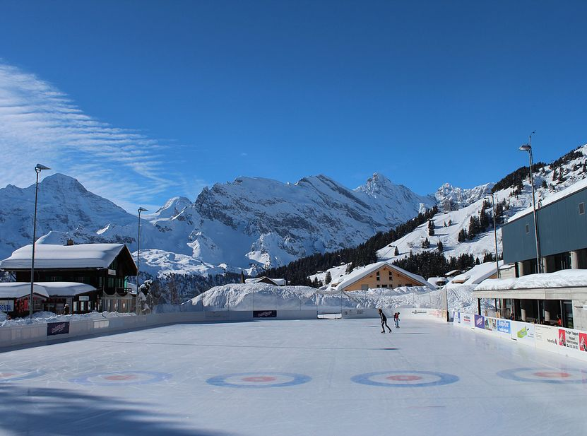 Alpines Sportzentrum Winter Mürren