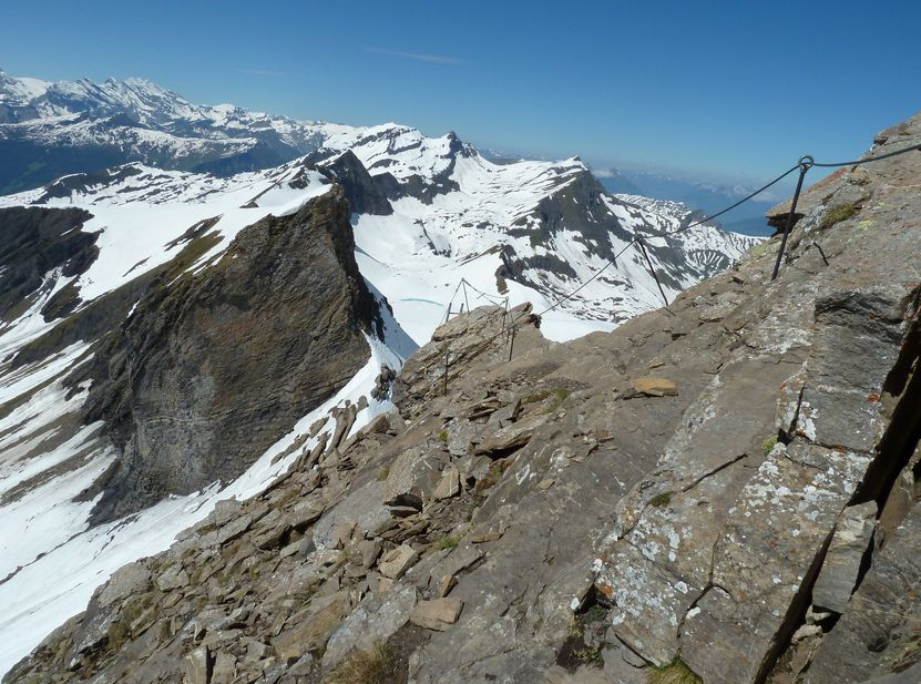 Klettersteig Grindelwald : Klettersteig schwarzhorn grindelwald wengen mürren