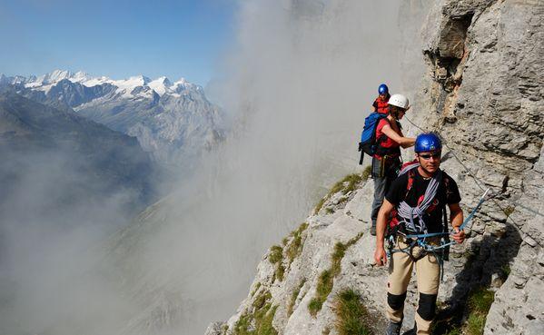 Klettersteig Lauterbrunnen : Klettersteig tälli grindelwald wengen mürren lauterbrunnen