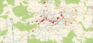 Resort map Grindelwald Wengen Mrren Lauterbrunnen Haslital