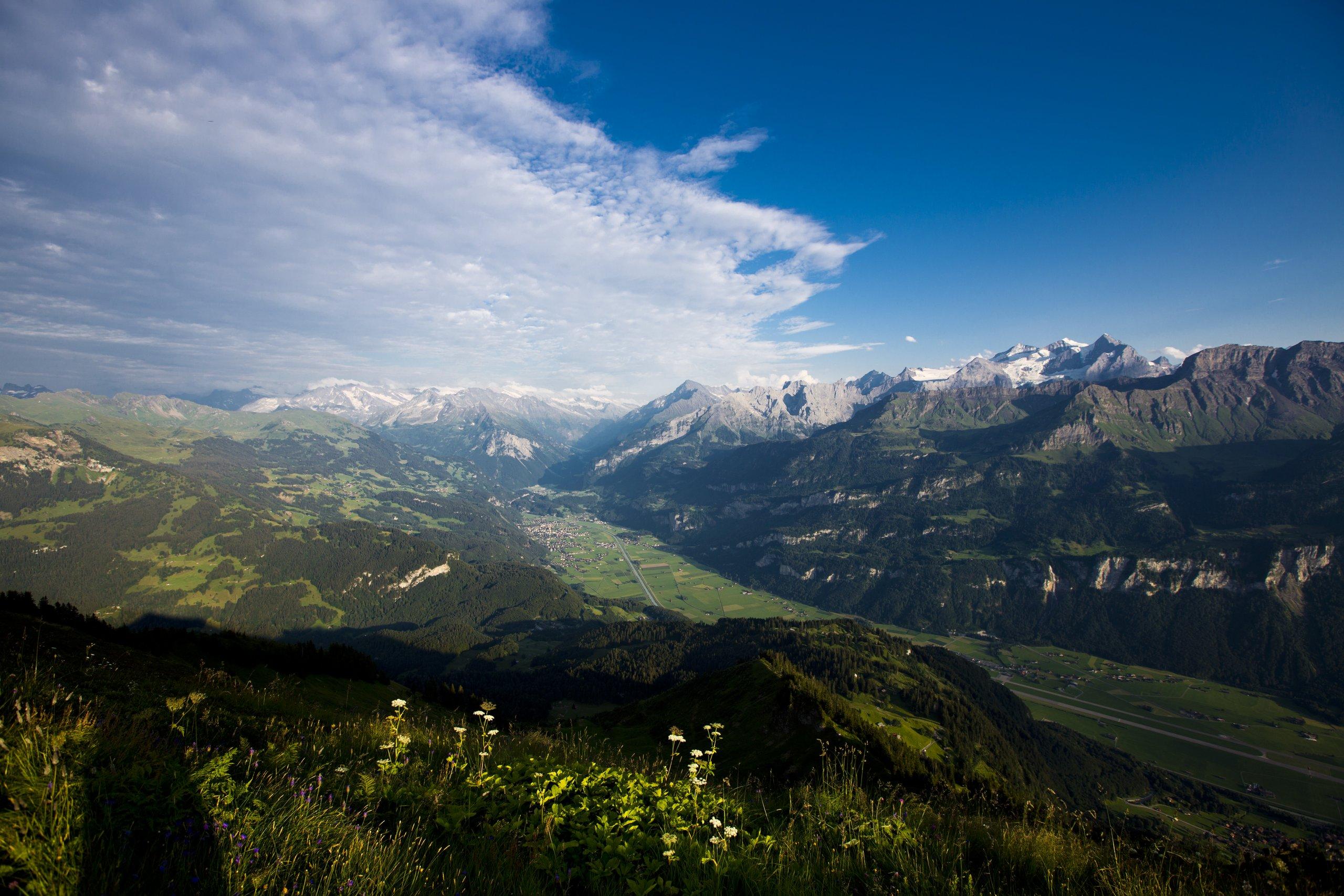 Klettersteig Jochpass : Klettersteig graustock grindelwald wengen mürren lauterbrunnen