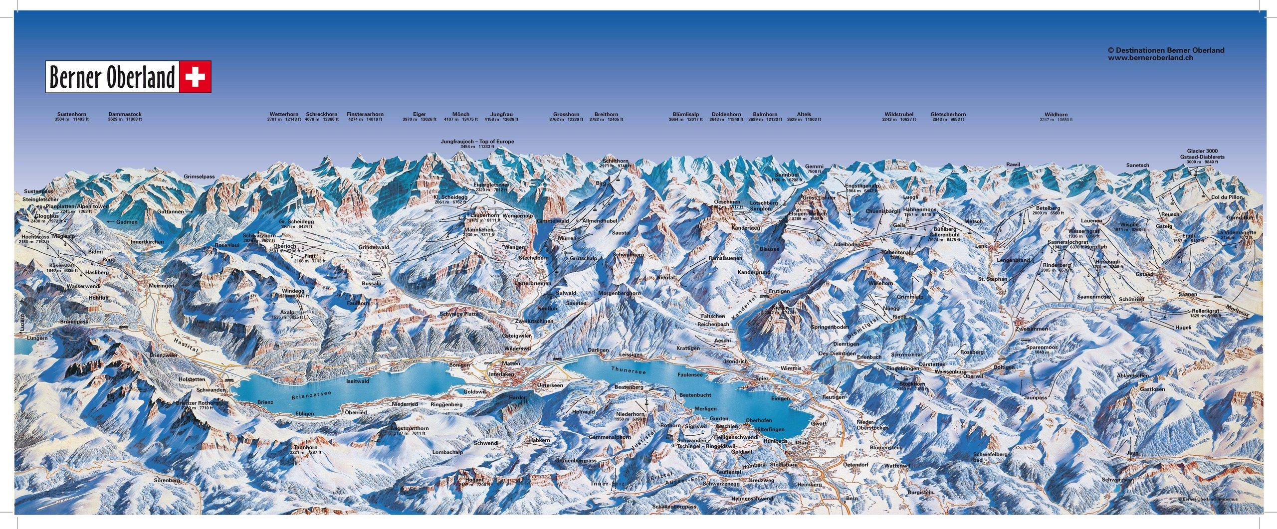 Plan your trip | Grindelwald, Wengen, Mürren, Lauterbrunnen, Haslital