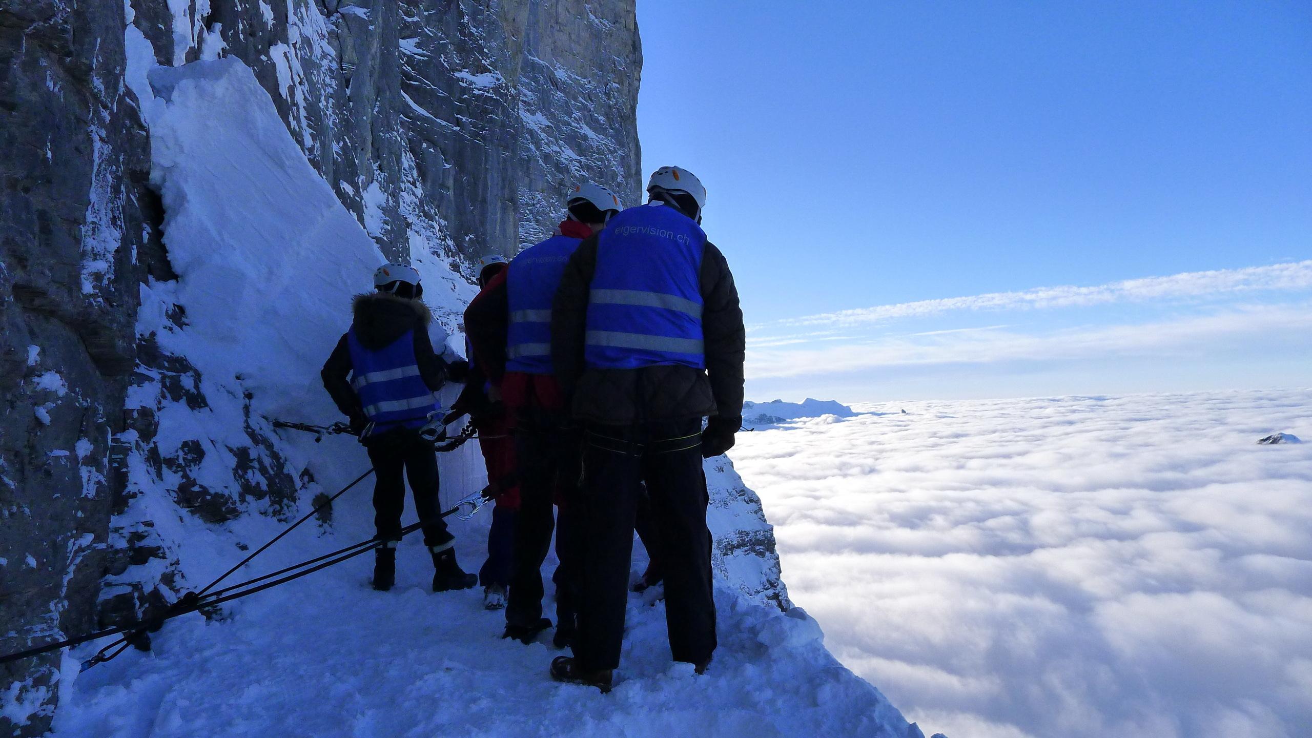 Eiger Nordwand Stollenloch