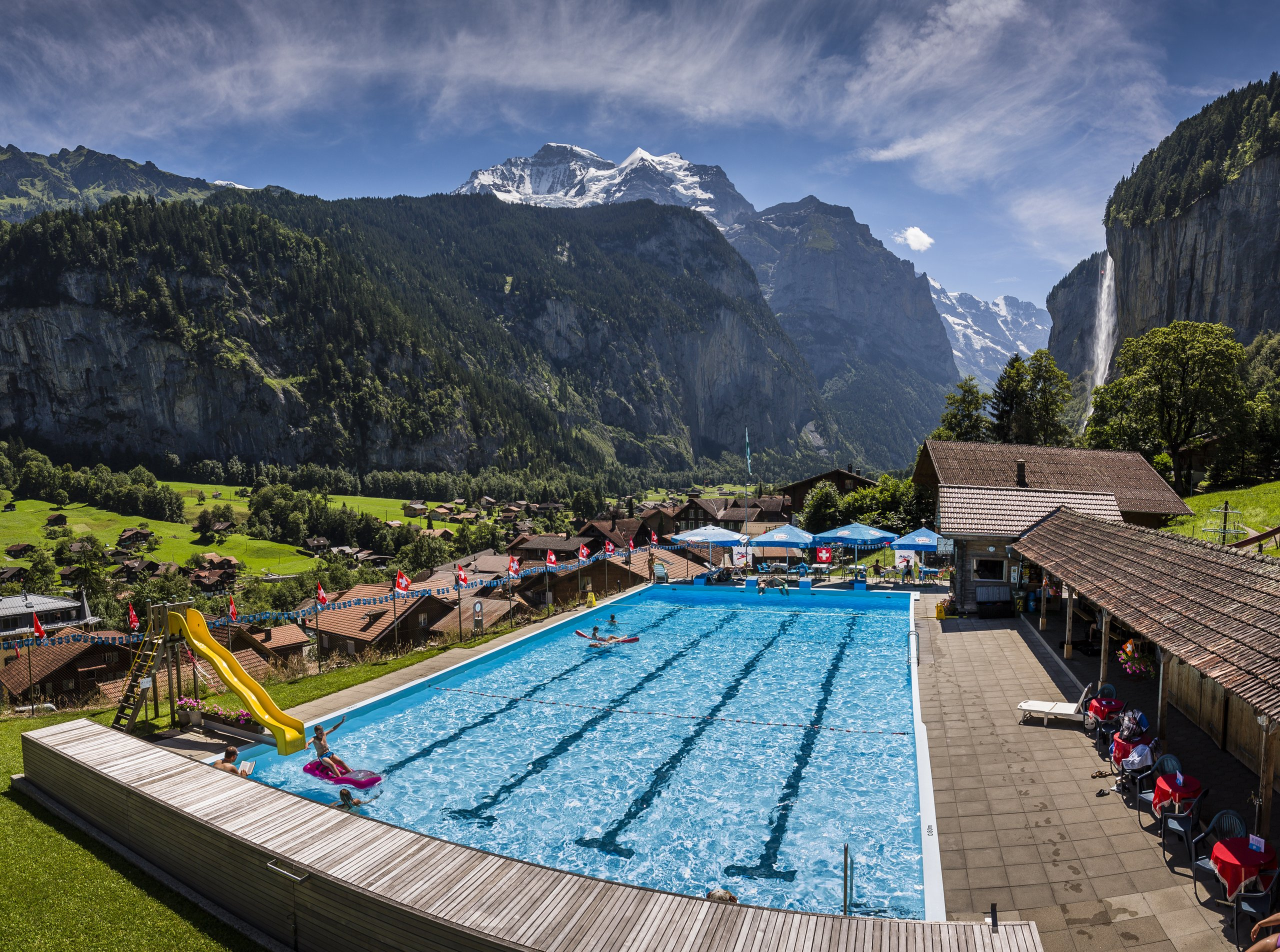 Openair Swimming Pool Lauterbrunnen